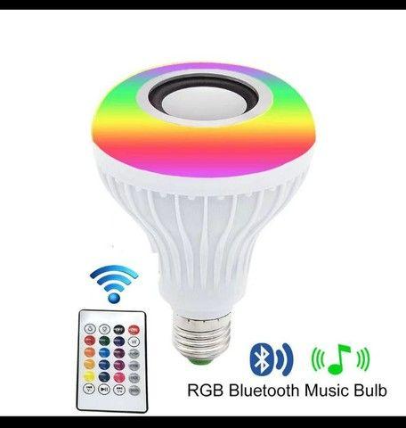 Lâmpada led musical bluetooth - Foto 2
