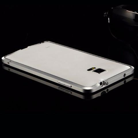 Capa bumper de metal para Samsung Note 4