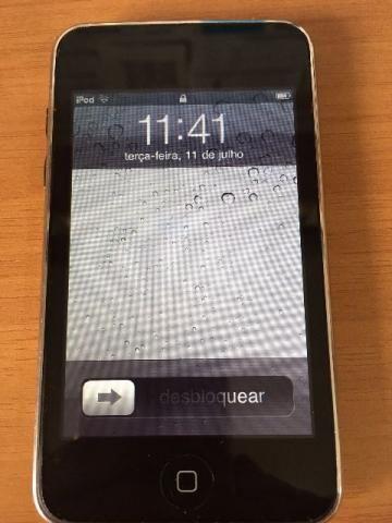 Ipod Touch 8gb (2ª Geração) + Capa De Silicone + Cabo De Eng