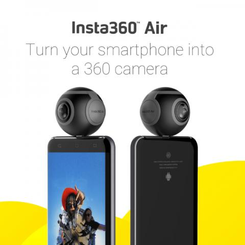 Camera 360 Insta360 Air - Micro USB Android
