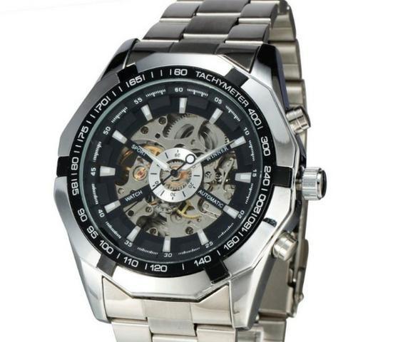 d2a148f9818 Lindos Relógios Importados Automáticos(não usa bateria) Winner-NOVO ...