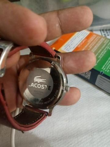 d38b41f08d3 Relógio Lacoste feminino pra vender logo 100 reais - Bijouterias ...