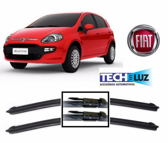 Palheta Limpador Parabrisa Especifica Citroen Peugeot Vw Hyundai Fiat Honda Toyota - Foto 9