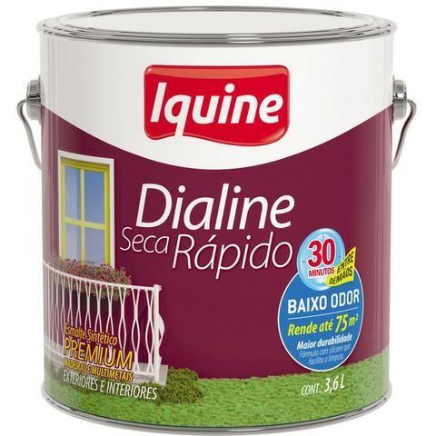 Tinta Esmalte Sintético Dialine Iquine 3,6L por: R$ 51,00 (dinheiro ou débito)