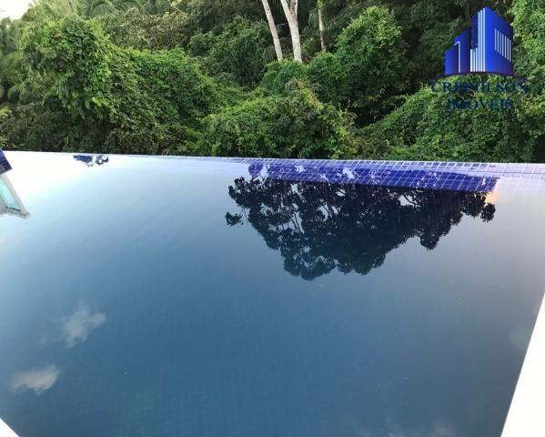 Casa à venda alphaville salvador ii, nova, r$ 2.190.000,00, piscina, espaço gourmet, área