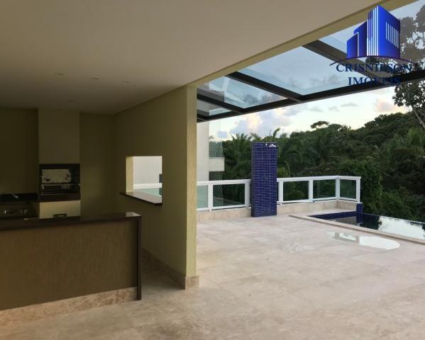 Casa à venda alphaville salvador ii, nova, r$ 2.190.000,00, piscina, espaço gourmet, área  - Foto 3