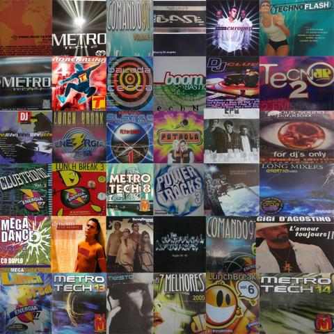 Coleção de cds variados e raros