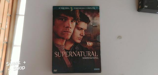 DVDs sobrenatural - Foto 3