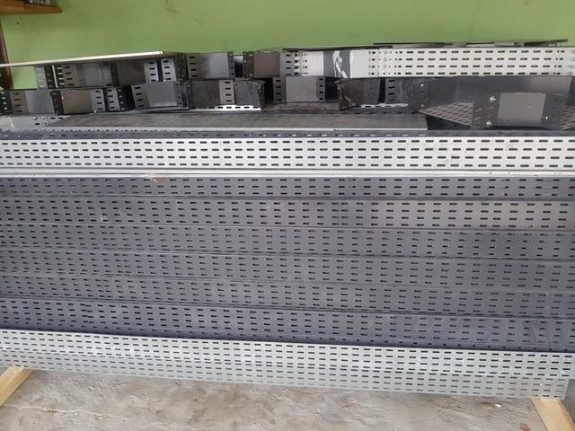 Eletrocalhas Com pintura Eletrostática 3metros. 37 peças