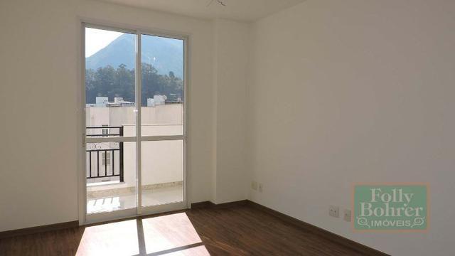 Apartamento novo no Centro com 3 quartos, varanda, 2 vagas de garagem - Foto 10