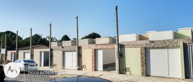 Casa plana no eusébio com terreno grande - Foto 5