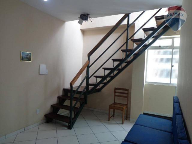 Comiptu 2020 quitado! apartamento duplex com 4 dormitórios à venda, 122 m² por r$ 530.000