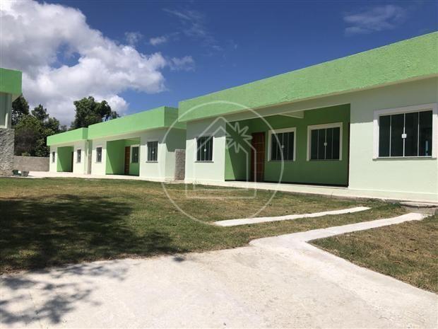 Casa de condomínio à venda com 1 dormitórios em São josé do imbassaí, Maricá cod:863638 - Foto 16