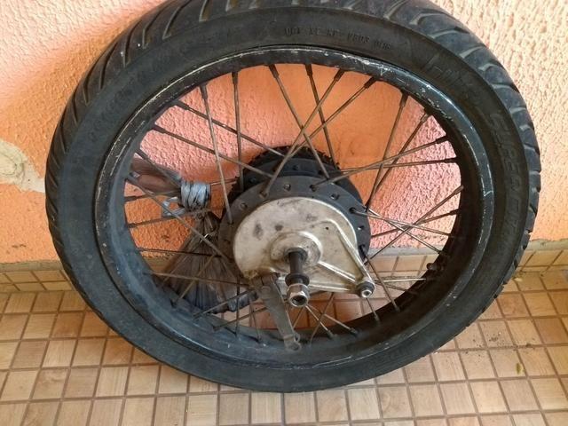 Roda Cg Traseira CG125 - Foto 3