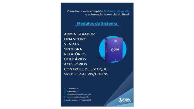 Software de gestão, controle de estoque, ponto de funcionários, emissão de nota fiscal - Foto 2