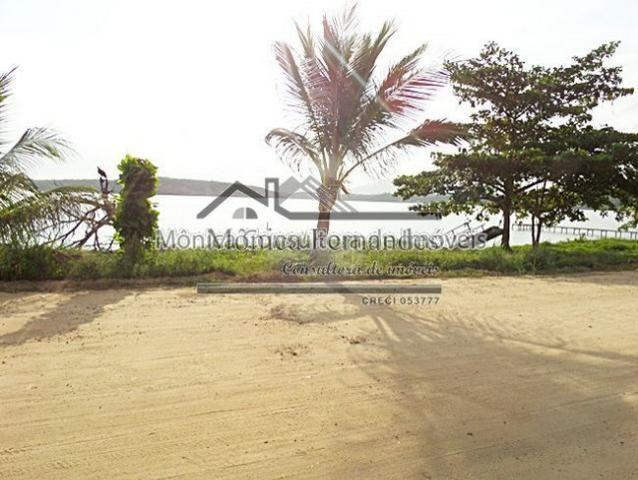 Duplex, 1/2 Porteira Fechada, Frente Lagoa, 3 Suítes Com Vista Para Lagoa-Maricá/RJ - Foto 2