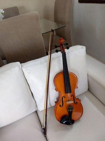 Violino Eagle vk544 tá super concervado - Foto 5