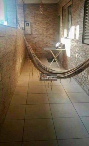 Casa popular com 2 dormitórios à venda, 92 m² por R$ 250.000 - Macuco - Santos/SP - Foto 2