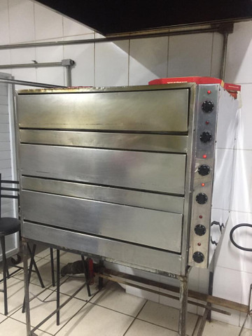 Forno para pizzaria superpotente - Foto 4