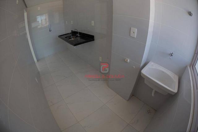 Apartamento 3 quartos no Bessa com varanda gourmet e área de lazer - Foto 11