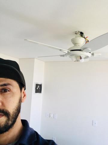 Instalação de ventilador de teto - Foto 5