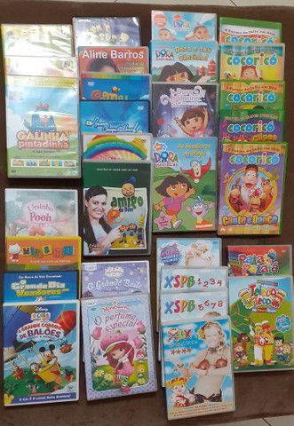 KIT DVD'S VARIADOS - INFANTIL