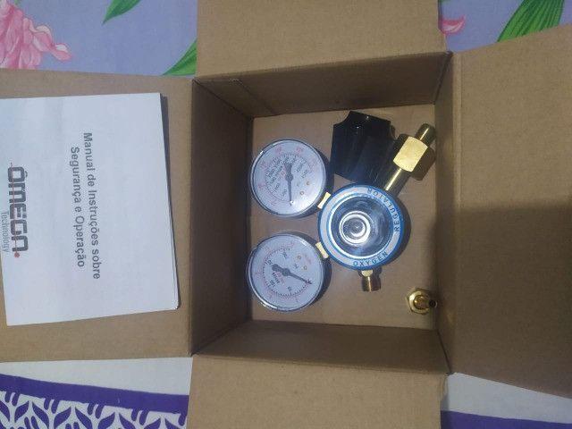 Regulador Manômetro De Pressão De Oxigênio e Acetileno - Foto 5