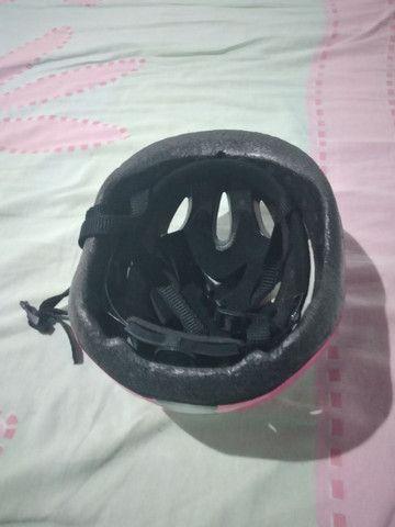 Vendo um capacete dê ciclista - Foto 4