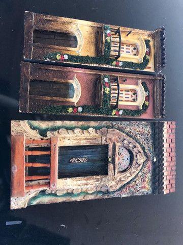 Quadros de madeira antigos - Foto 5