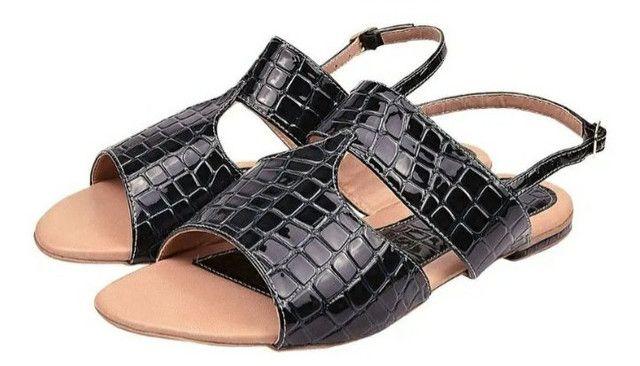 Sandálias femininas tamanhos especiais - Foto 3