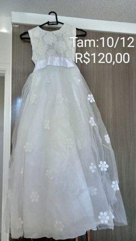 Vestidos de festa plus size/ vestido daminha - Foto 4