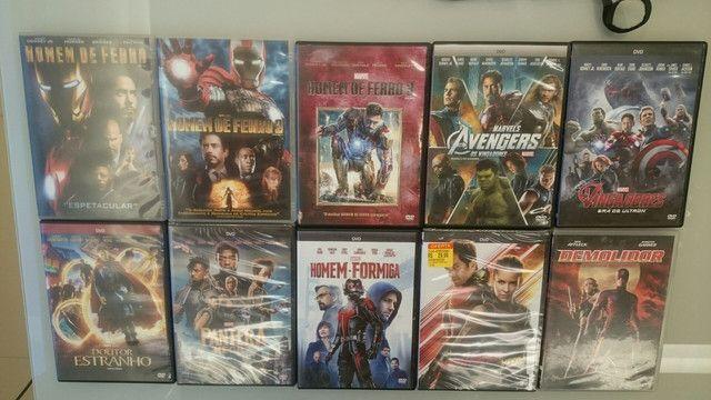 Coleção Dvd Marvel Dc - Foto 2