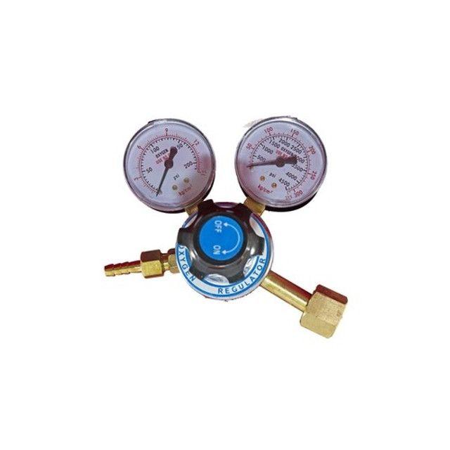 Regulador Manômetro De Pressão De Oxigênio e Acetileno - Foto 3