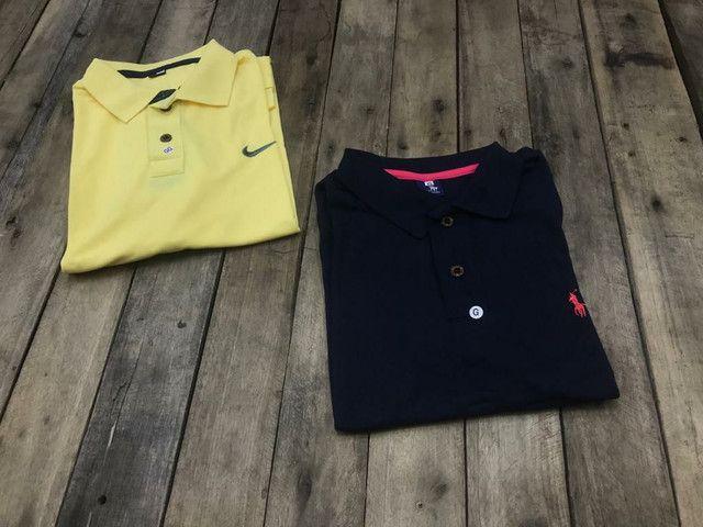 2 Camisas Polo R$ 56,00 no dinheiro  - Foto 2
