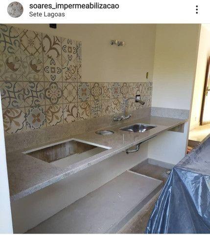 Serviços em Mármores e Granitos - Polimento - Impermeabilização - Foto 6