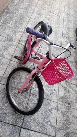 Bicicleta feminina infantil nova  - Foto 6