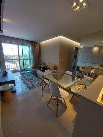 Apartamento com 2 dormitórios à venda, 56 m² por R$ 428.000,00 - Benfica - Fortaleza/CE