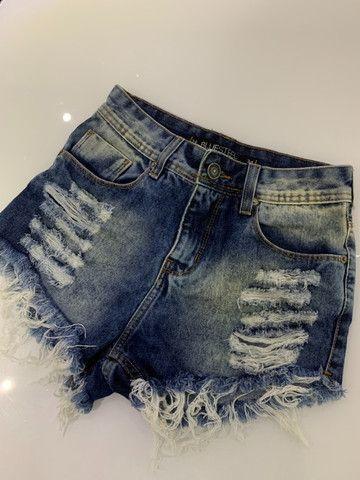Short hot pants cintura alta - Foto 3