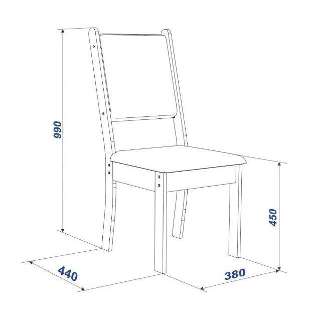Mesa de Jantar New Charm 4 Cadeiras -- Entrega e montagem Na Hora - Foto 4