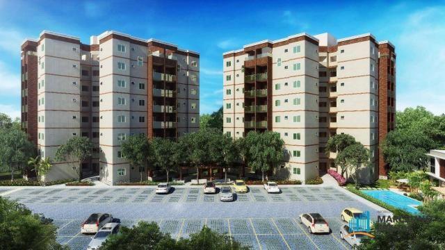 Apartamento c/3 quartos à venda, 77 m² por R$ 359.504 - Eusébio - Eusébio/CE