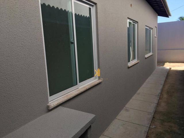 Casa Plana com 2 dormitórios sendo 1 suíte à venda, 63 m² por R$ 185.000 - Mangabeira - Eu - Foto 7