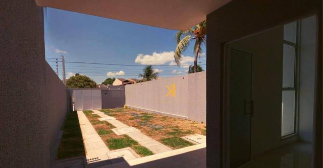 Casa com 3 dormitórios sendo 2 suítes à venda, 89 m² por R$ 265.000 - Urucunema - Eusébio/ - Foto 10