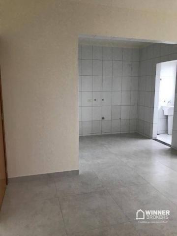 Apartamento com 3 dormitórios à venda, 80 m² por R$ 300.000,00 - Zona 01 - Cianorte/PR - Foto 4