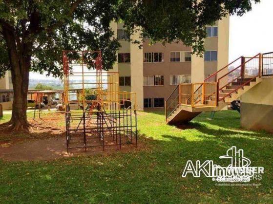 Apartamento com 2 dormitórios para alugar, 45 m² por R$ 550,00/mês - Jardim Ipanema - Mari - Foto 7
