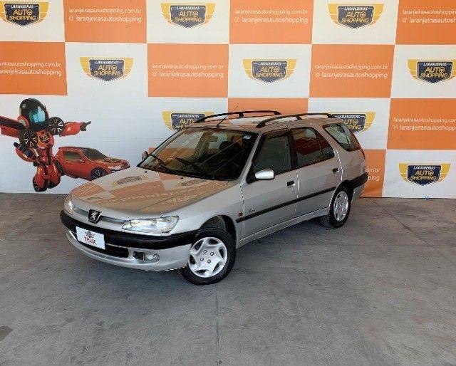 Peugeot 306 SW Passion 1999 Completo carro de repasse  - Foto 7