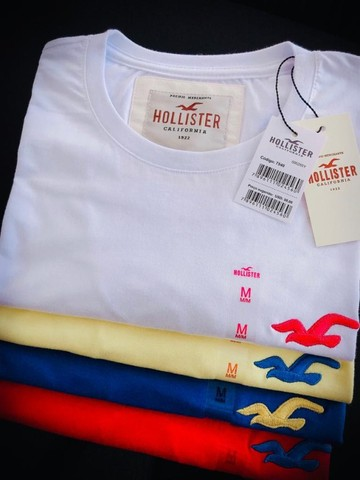 camisetas hollister basicas atacado  - Foto 4