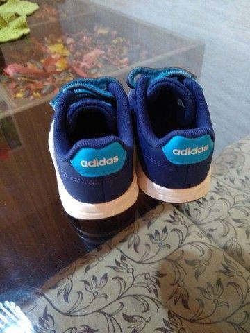 Tênis infantil Adidas original - Foto 2