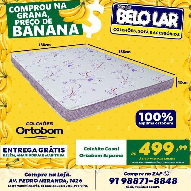 Colchão Ortobom Casal, Compre no zap *
