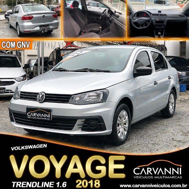Volkswagen Voyage Trendline 1.6 2018 com GNV