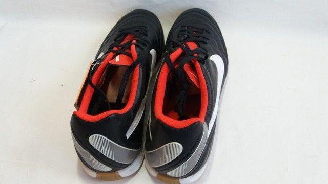 Chuteira Nike  Tiempo Natural IV Ltr ic Futsal - Foto 5